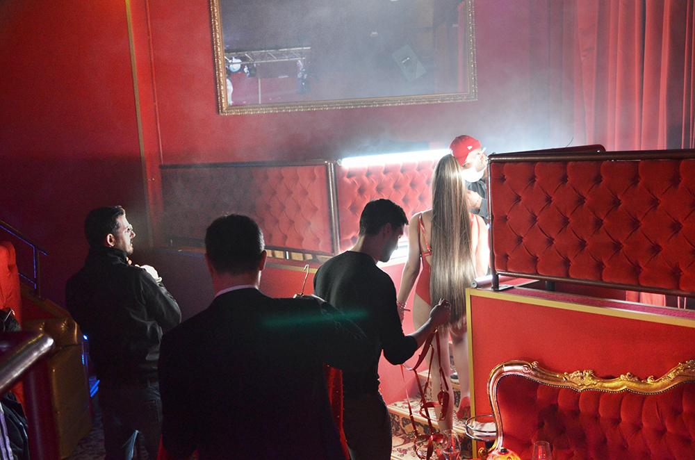 "Backstage video ""Jefa"" foto di Matteo Ricci"