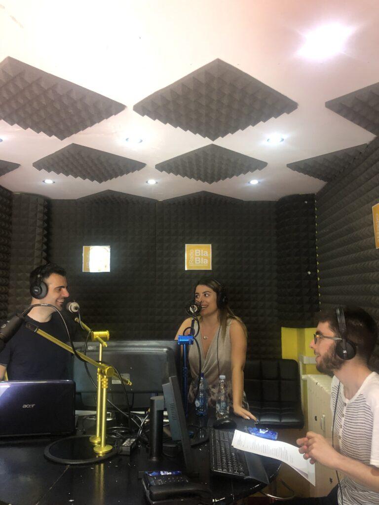 Belita a Radio Bla Bla