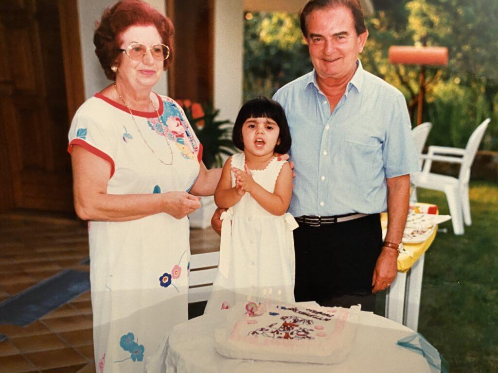 Nonna Liliana mini Belita e Nonno Giuseppe
