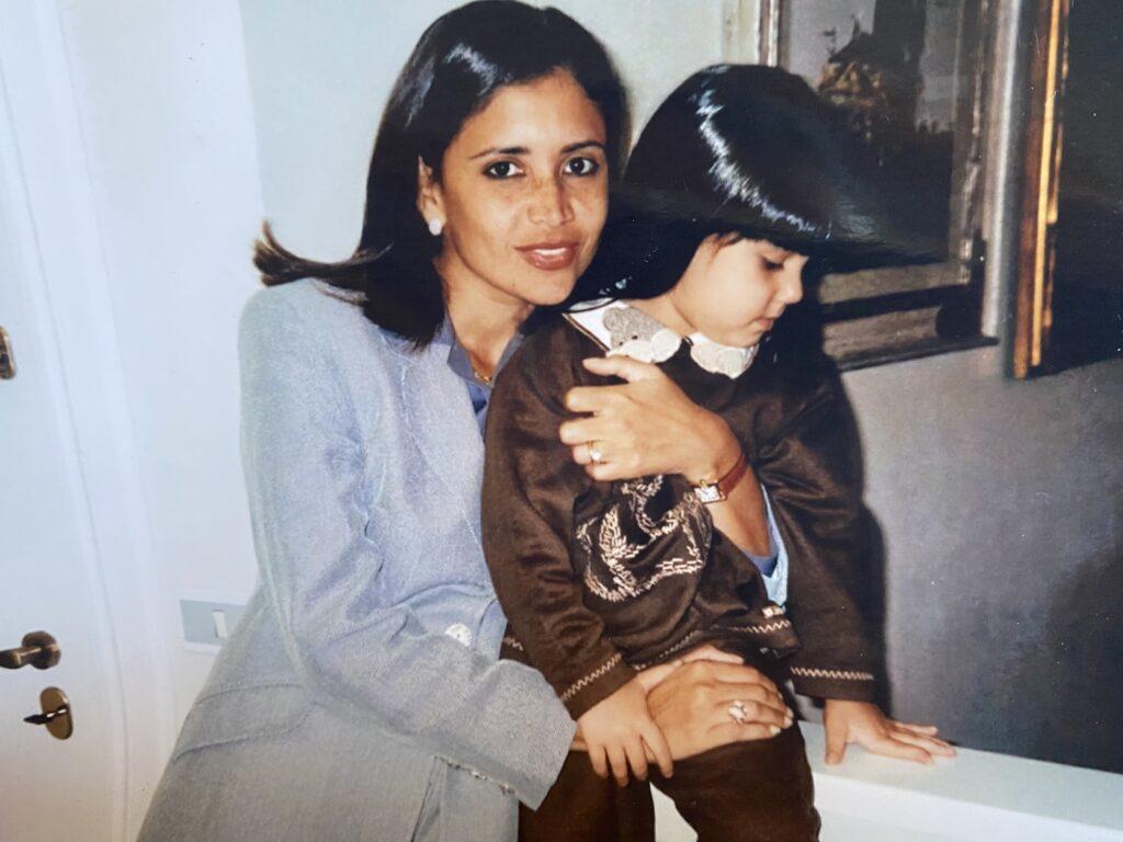 Belita e mamma Claudia